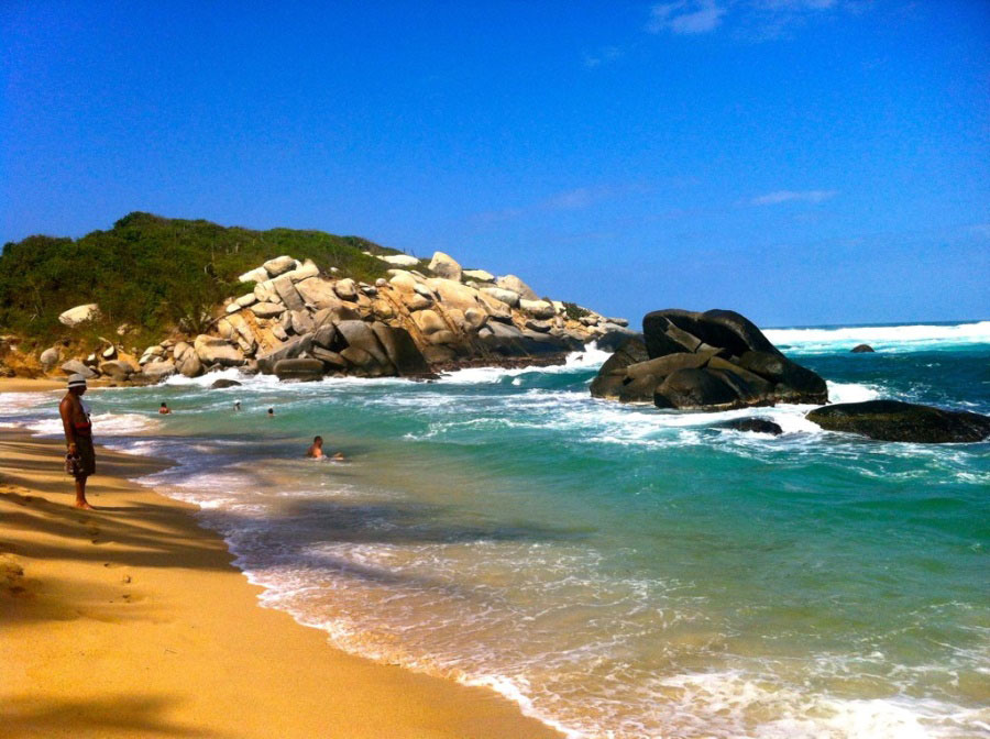 Tayrona National Park, on the northeast coast of Colombia