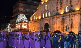 The procession of Pamplona - Tourism in Colombia