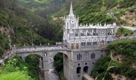 The Sanctuary of Our Lady of Las Lajas - Tourism in Colombia