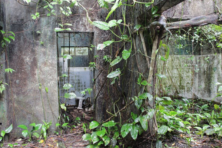 the ruins of the prison - Gorgona Island National Park