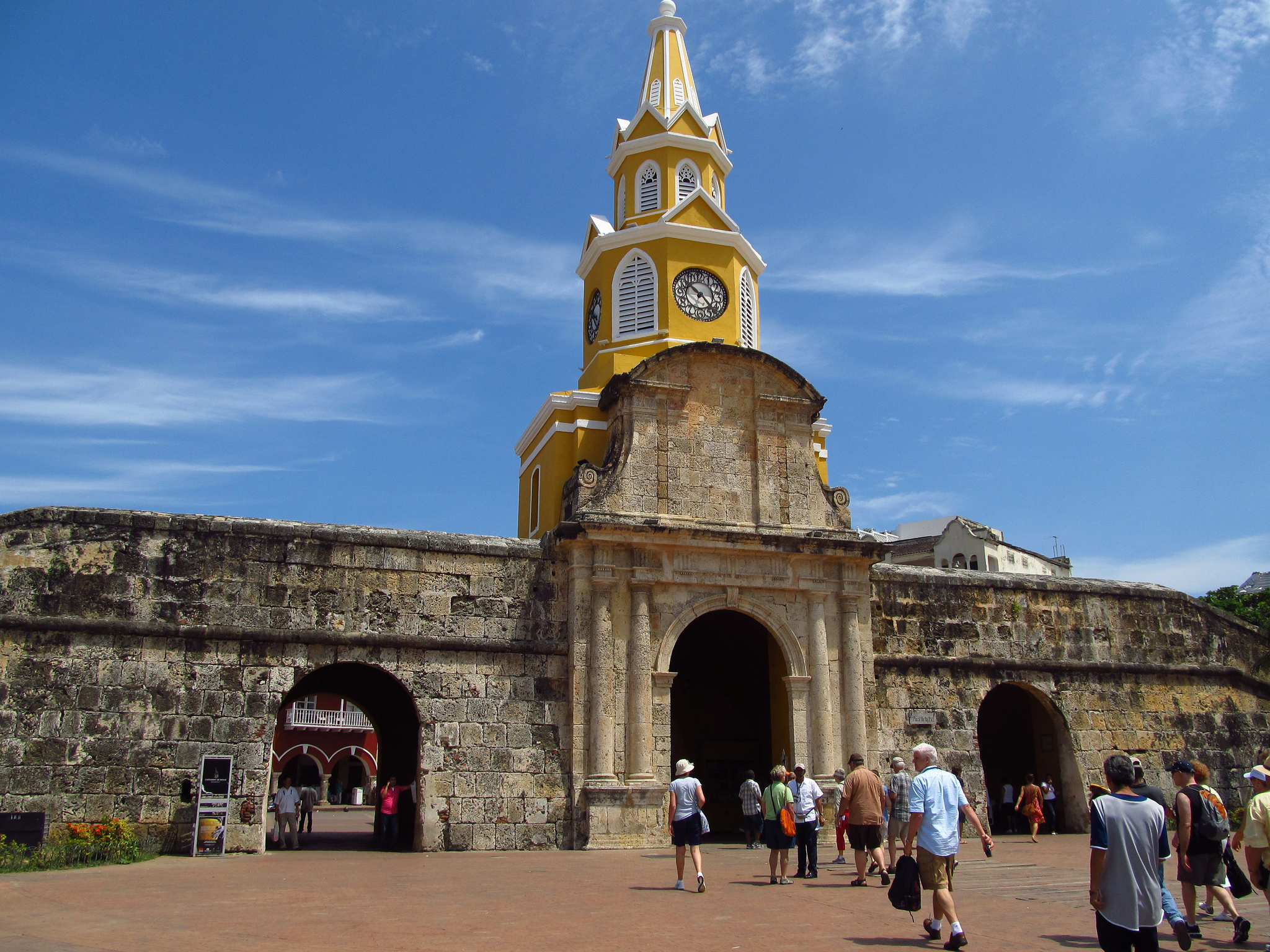 cartagena_clock_tower_travel_colombia_travel